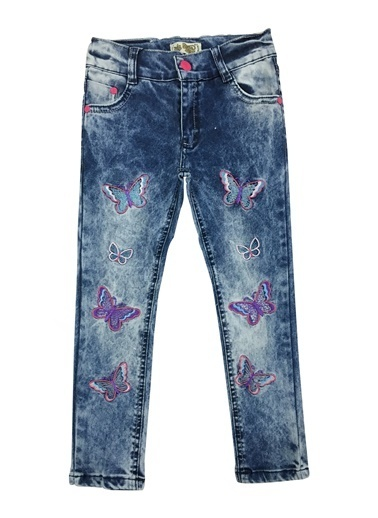 By Leyal For Kids Jean Pantolon İndigo